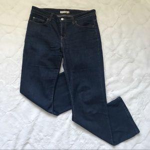 Levi's Dark Wash 515 Boot Cut Jeans 8P Medium